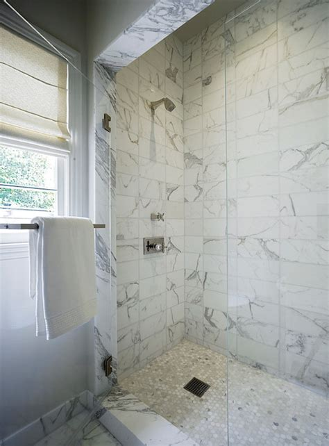 Bathroom Remodel Ideas 2014 white marble shower surround transitional bathroom
