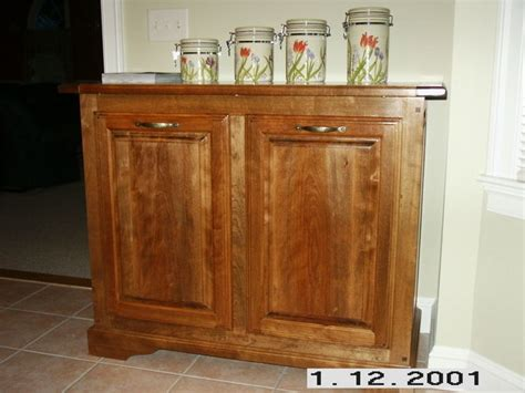 trash and recycling cabinet hanging wine cabinet and trash recycling cabinet by ronr