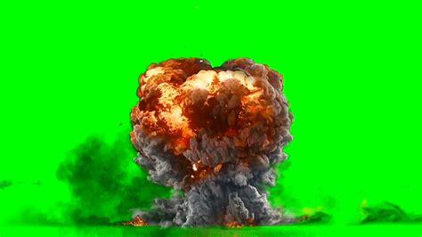 best for green screen green screen explosion