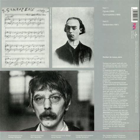 Erik Satie Piano Works Vinyl - erik satie early piano works volume 2 vinyl at juno records