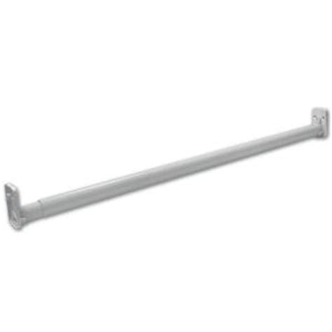 Closetmaid Adjustable Rod Closetmaid Selectives Brushed Nickel 30 In 48 In