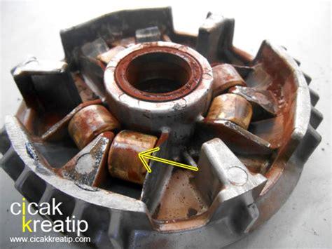 Roller Atau Wick Untuk Matic imbas roller motor matic rusak atau aus bikin tarikan