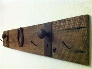 barn wood coat hanger rustic reclaimed barn wood coat rack hanger with antique