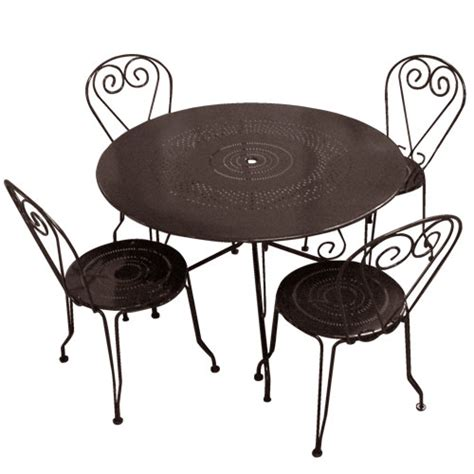 chaise ronde metal