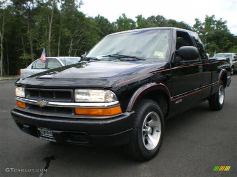 onyx black 2000 chevrolet s10 ls extended cab exterior