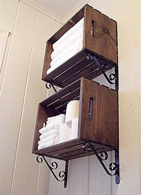 diy bathroom organiser 30 brilliant diy bathroom storage ideas architecture