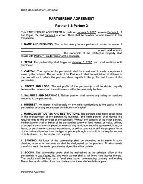 silent partner contract template silent partner contract template sletemplatess