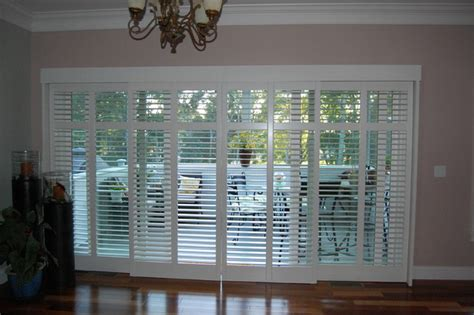 Exterior Patio Blinds Plantation Shutters Traditional Porch Boston By