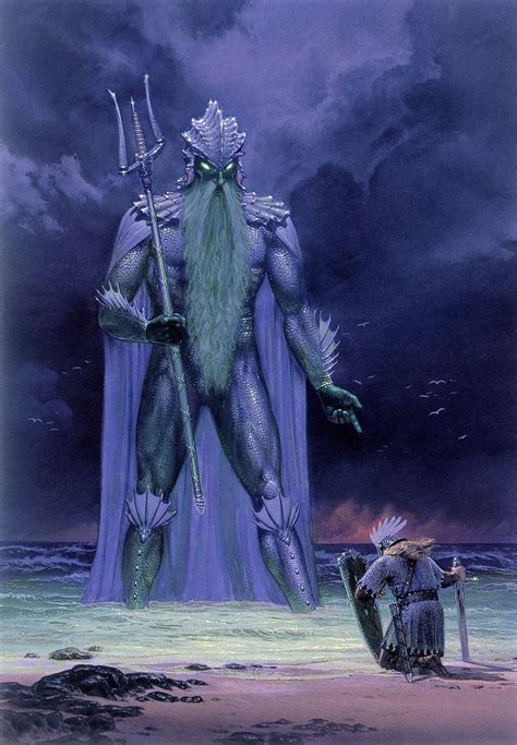 The Silmarillion A by The Silmarillion Images Ted Nasmith Tuor And Ulmo From