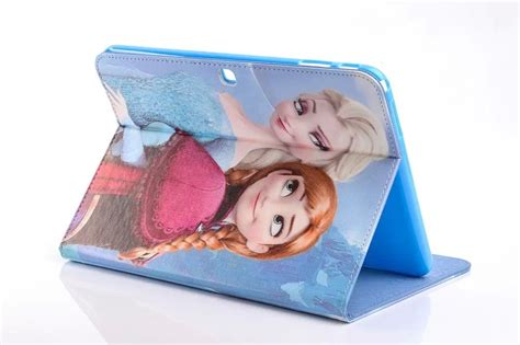 frozen wallpaper samsung tab screen protector frozen queen pu leather cover case for