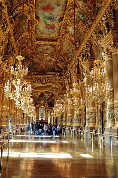 paris opera house hall in opera house paris wanderlust pinterest