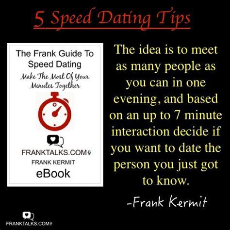 8 Tips On Speed Dating 5 tips for speed dating franktalks