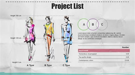 fashion illustration ppt fashion ppt wide goodpello