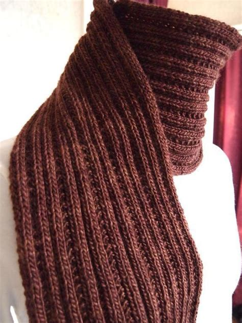 Simply Ribbed Scarf Craftsy