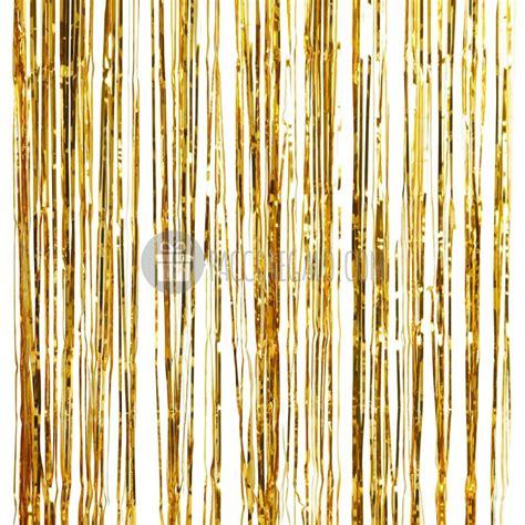 tenda decorativa di frange oro metal cm 91 x 245