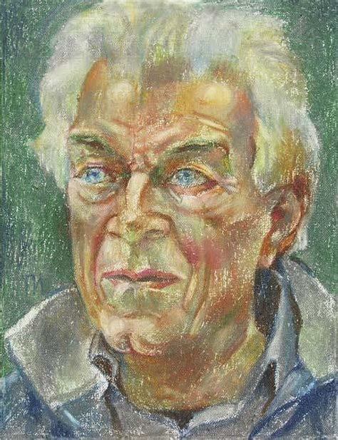 portraits john berger on john berger painting by leonid petrushin