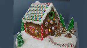 how to make easy gingerbread house from scratch youtube