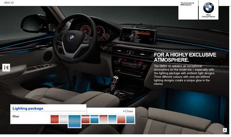 lighting package for new bmw x5