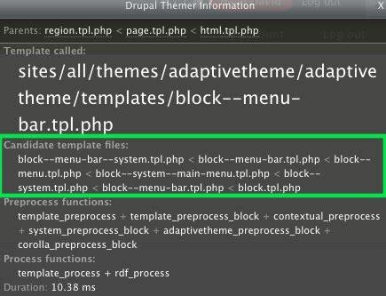 theme drupal function drupal template php functions