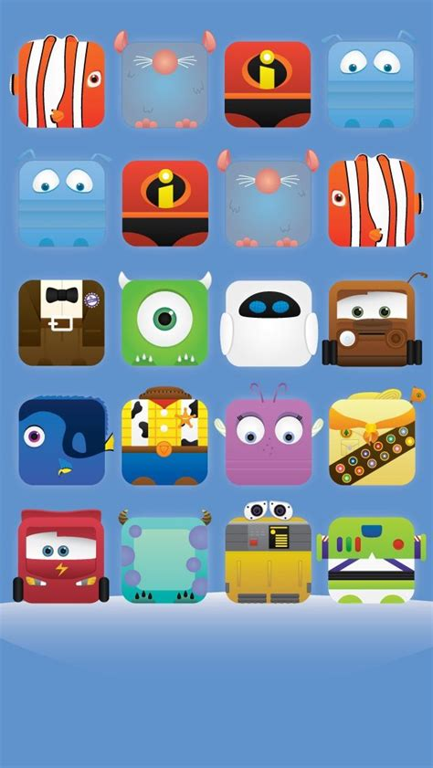 Iphone Iphone 5 5s Disney Pixar Cars 2 Cover iphone 5 wallpaper disney pixar character icons woody buzz incredibles cars nemo dory monsters