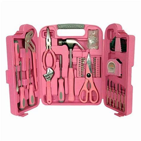 Not So Pink Tool Kit by Pink Tool Set Pinkyswear