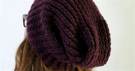 slouchy hat knitting pattern circular needles slouchy hat also shows 3 needle bind on circular