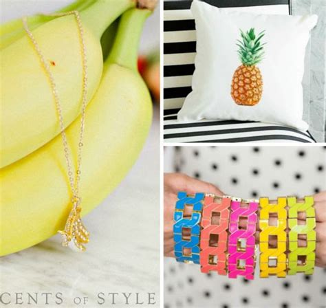 8 Fruity Inspired Accessories by Cents Of Style Fruit Inspired Jewelry Accessories Home