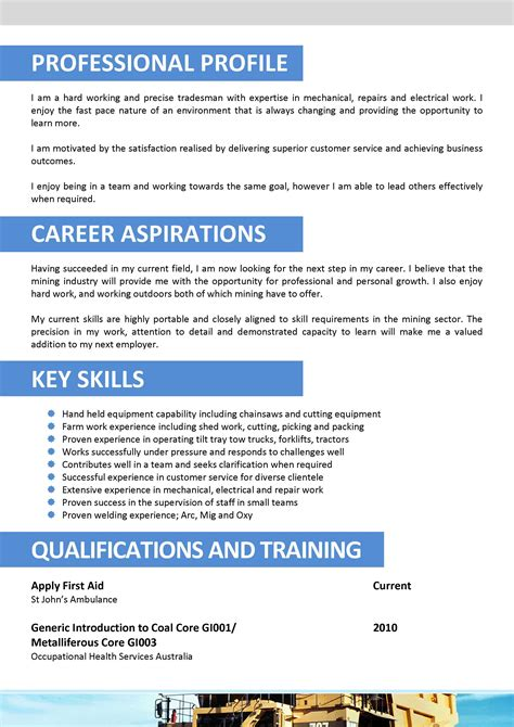 Resume Template Australia Mining We Can Help With Professional Resume Writing Resume Templates Selection Criteria Writing