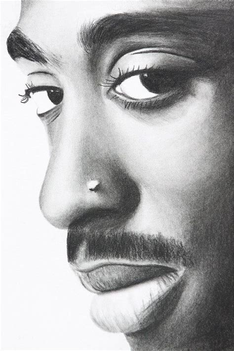 2pac Sketches by Tupac By Charlesathompson On Etsy 20 00 Charcoal