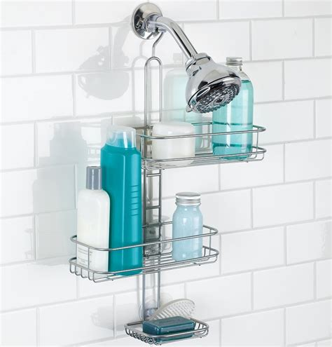 bathroom caddies adjustable shower caddy in shower caddies