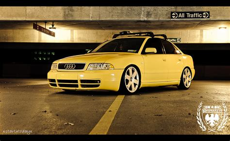 slammed audi s4 slammed imola yellow b5 s4 chris s awesome audi b5 s4