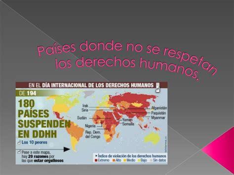 pa 237 ses donde no se respetan los derechos humanos