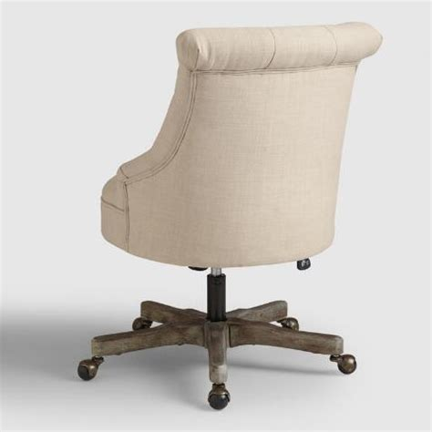 World Market Office Chair by Elsie Upholstered Office Chair World Market