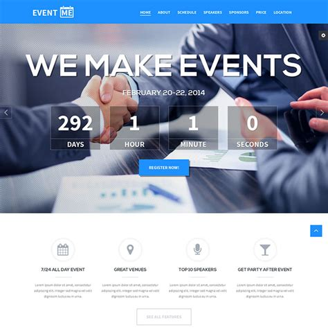 34 Responsive Landing Page Templates That Convert Web Graphic Design Bashooka Event Landing Page Template Free