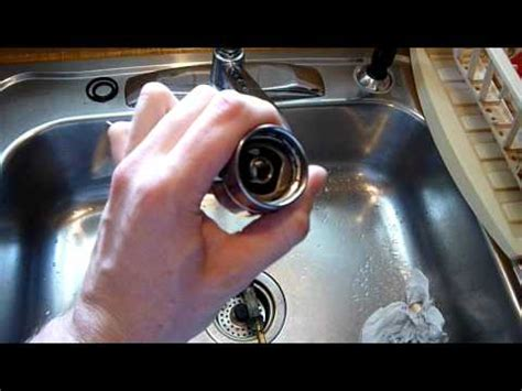 Moen Single Handle Kitchen Faucet Repair by How To Repair Moen Single Handle Faucet Pt 2 Youtube