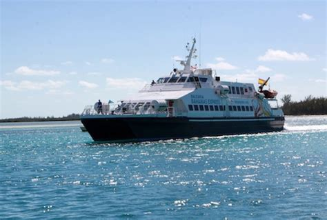 from miami to bimini by boat miami bimini ferry officially launches