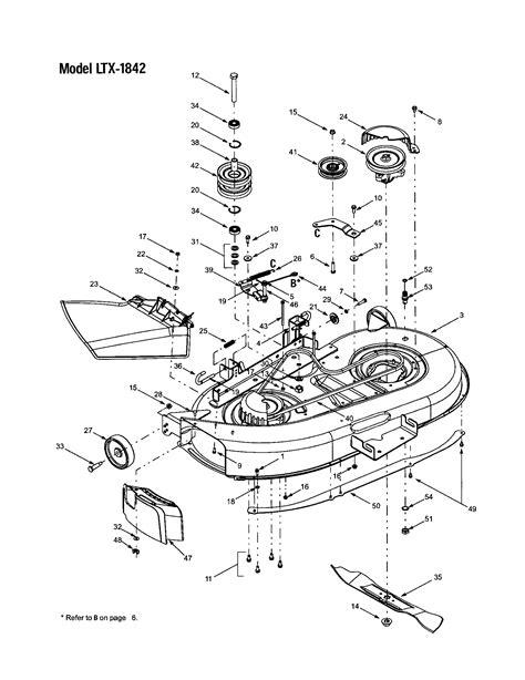 troy bilt mower deck diagram manual get free image about