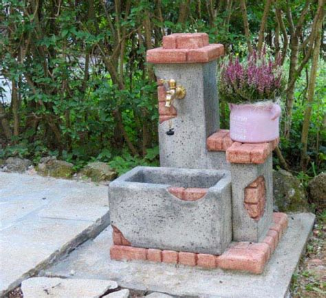 Fontana In Mattoni Fai Da Te by Fonte Casale Fontane Da Giardino R C Di Rinaldi