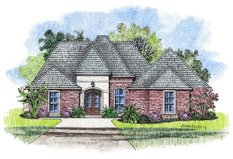 Small House Plans Louisiana Country Style Bedrooms Country House Plans