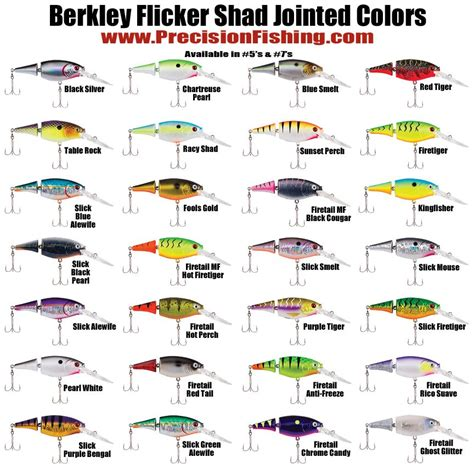 flicker shad colors media center precision fishing