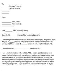 Resignation Letter Sle Reason Family Problem Sle Resignation Letter For Family Reason 7 Exles In Pdf Word