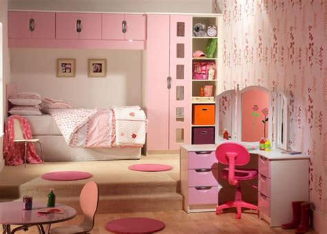 starplan bedroom furniture pretty in pink girls fitted bedroom finished in pink and