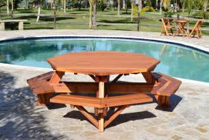 octagonal picnic tables