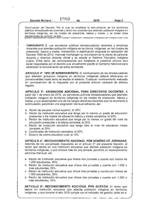 decreto de incremento salarial 2016 decreto aumento salarial empleados publicos colombia 2015