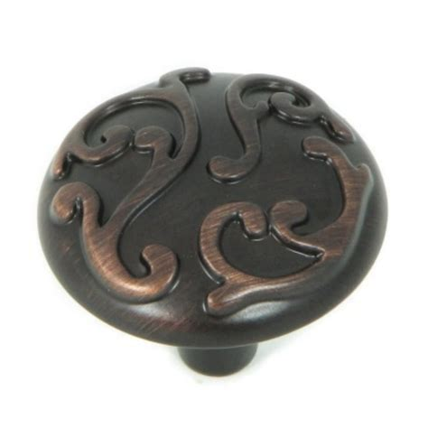 Oil Rubbed Bronze Kitchen Cabinet Hardware by Shop Stone Mill Hardware Ivy Oil Rubbed Bronze Round