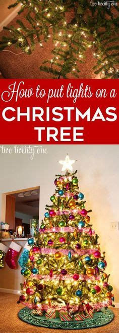 how to put lights on a tree 1000 images about quot everything christmas quot on pinterest
