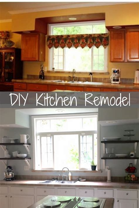 farmhouse kitchen cabinets diy diy farmhouse kitchen remodel overthrow martha