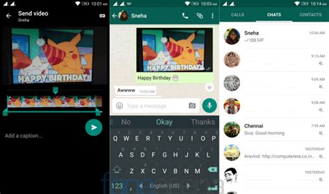audio format supported by whatsapp whatsapp for android beta now lets you send videos as gifs