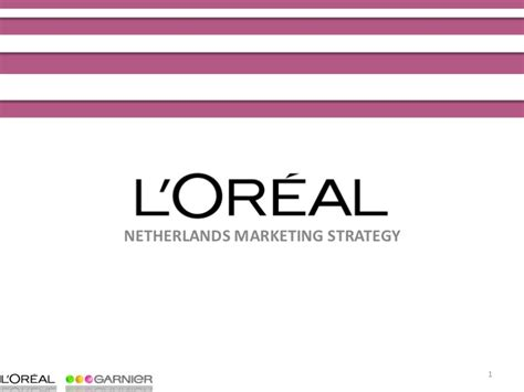 Marketing 3 In 1 L marketing strategy l oreal