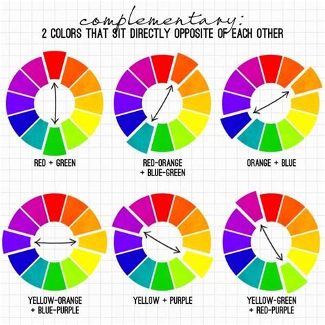 complementary color of purple creating a complementary colour scheme elements of